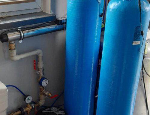 Montaż zmiękczacz i odżelaziacza wody / Chudów