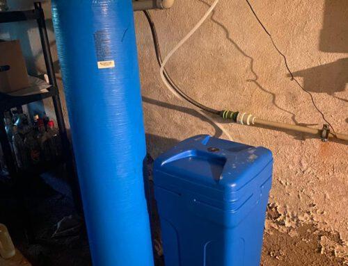 Realizacja montażu zmiękczacza wody / Stróże